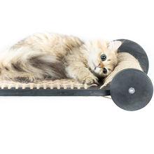 Новый плавающий Кот гамак кровать Дом сизаль когтеточка Кошка