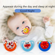 Cute baby pacifier safe newborn child cartoon bee pacifier silicone pacifier pacifier dust cover infant teether(China)