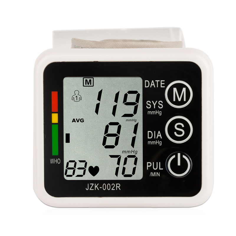 Image 3 - English Voice Digital Cuff Wrist Blood Pressure Monitor 