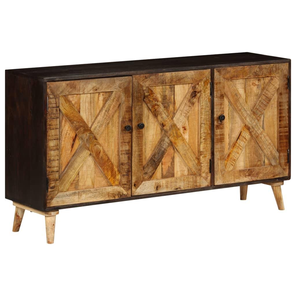VidaXL Sideboard Solid Mango Wood 140x35x75 Cm