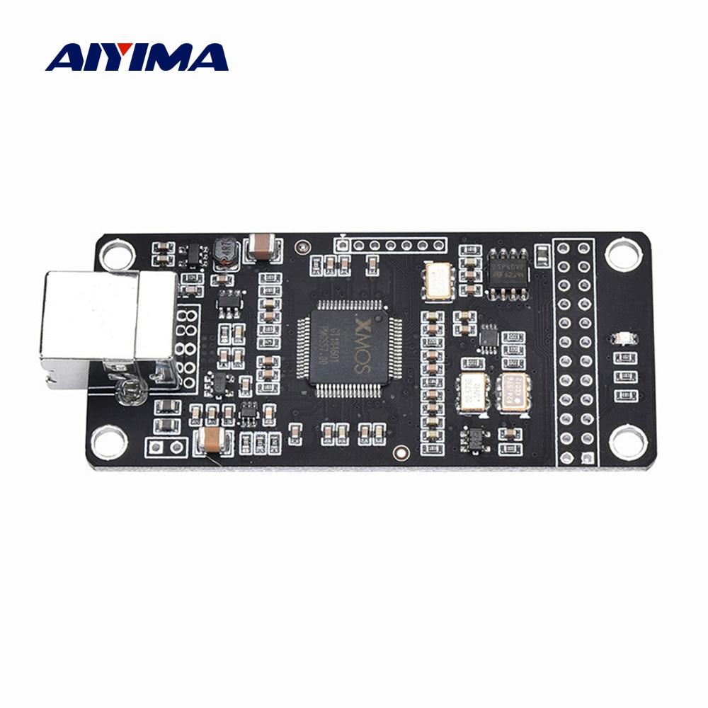 AIYIMA ES9023 XMOS XU208 DSD USB Decoder Digital Audio Interface U8 Upgrade Asynchronous Amanero Module For IIS I2S Decoder DIY