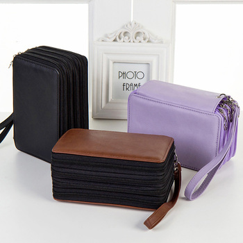 72 Holes School Pencil Case for Girls Boys Back to Pencilcase Big Penal Box 4 Layers Pen Bag Large Cartridge Stationery