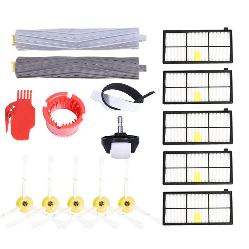 Side Brush Filter Vacuum Cleaner for iRobot Roomba 800 900 series 870 880 980