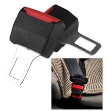 Clip negro creativo para cinturón de seguridad de coche, extensor para cinturón de seguridad, bloqueo de cinturón de seguridad, Conector de hebilla de inserción gruesa, 1 ud.