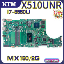X510UN für ASUS X510U X510UNR X510UQ X510UR X510URR S5100U laptop motherboard mainboard 100% test OK I7-8550U cpu MX150/2G