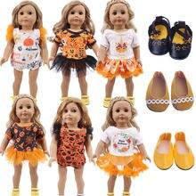 Одежда для куклы на Хэллоуин 1 шт 18 дюймовых американских кукол