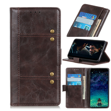 For ZTE Axon 10 Pro 5G Case Full Protection PU Leather Folding Stand Shockproof Wallet Type Phone Protector Shockproof Bag Coque