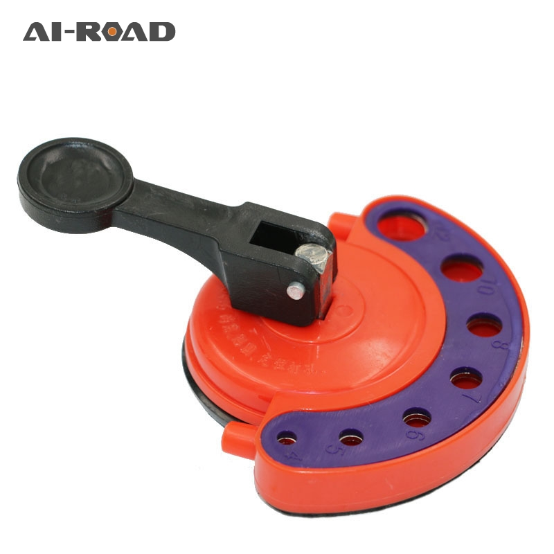 4-12mm Glass openings Locator Diamond Drill Bit Tile Glass Hole Saw Core Bit Guide With Vacuum Base Sucker Tile(China)