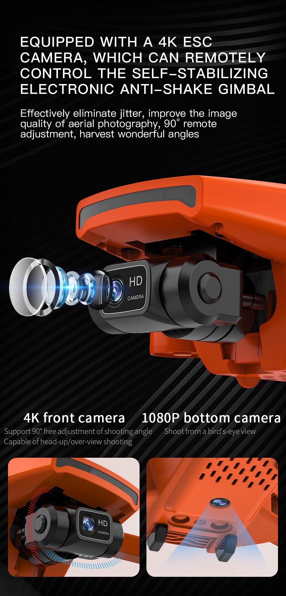 SG108 Pro Long Distance 2-Axis Gimbal Camera Drone 4K GPS 5G WiFi