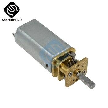 GA13-050 DC 12V 10 30 60 100 150 200 300 obr/min mikro skrzynia biegów silnika przekładnia redukcyjna silniki z metalowa skrzynia biegów koła Diy