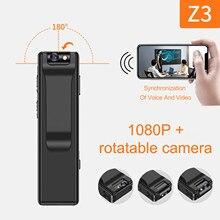 Mini câmera magnética hd 1920*1080 portátil led indicador de vídeo câmera de segurança usb sem fio para interior ao ar livre casa escritório