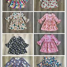 Зимнее рождественское платье для девочек; Молочное шелковое платье для маленьких девочек