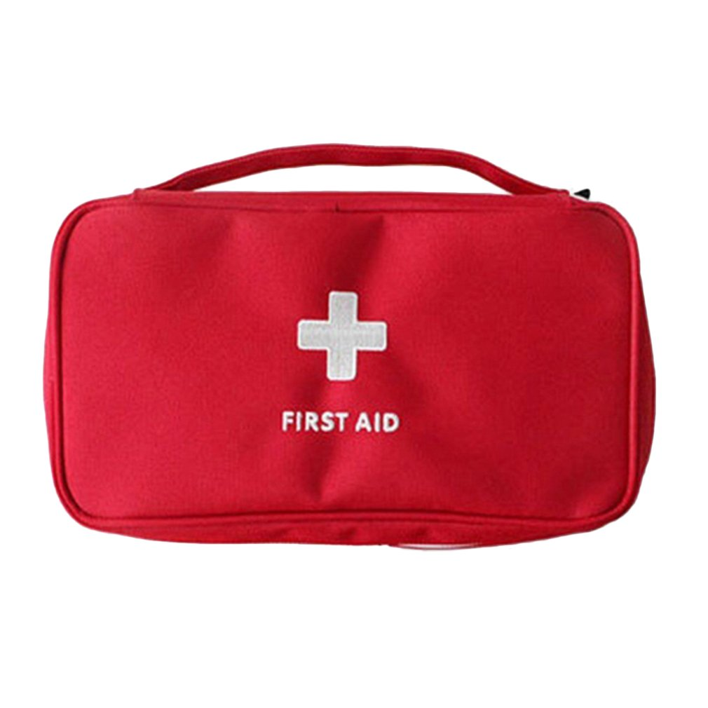 Portable Mini First Aid Bag Emergency Home Outdoor Treatment Survival Medical Rescue Pouch Large Drug Storage Carrying Bag