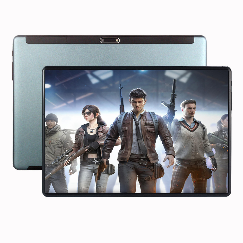 10 Inch Game Multimedia Tablet MT8752  Octa Core  6GB RAM 128GB ROM 1280*800 IPS WIFI GPS Android 9.0 Google Market Tablet Pc
