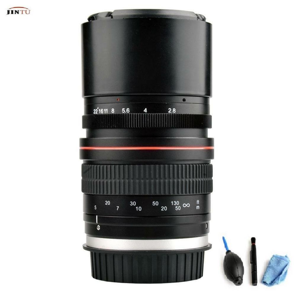 Jintu 135 мм f/28 телефото Полнокадровый объектив адаптер переменного