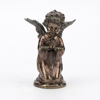 Creative Little Angel Art Sculpture Figure Prayer Statue Resin Crafts Handcraft Decorations For Home Birthday Gift R3201