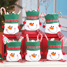 25x16cm Christmas Snowman Bunch of Candy Bags Christmas Products Children's Gift