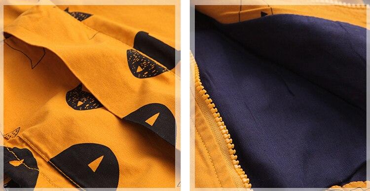 Benemaker Winter Fleece Jackets For Boy Trench Children's Clothing 2-10Y Hooded Warm Outerwear Windbreaker Baby Kids Coats JH019 14