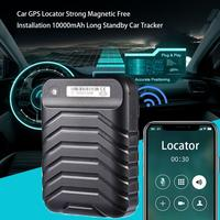 GPS Locator Adsorption Recording Anti Lost Device Tracker Voice Control Real Time Tracking Device 5000mAh Standby