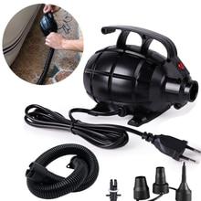 220V 600W Air Compressor Portable Air Pump Air Mat Grenade Pump For Tumbling Inflatable Pump For Home Air Bed Air Track Pump
