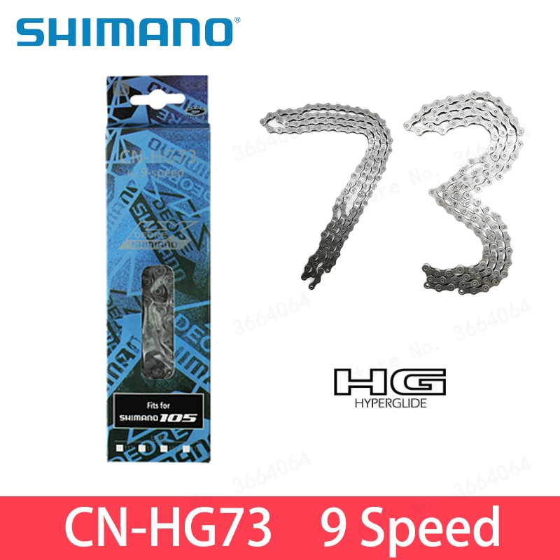 9//27 Speed Mountain Bike Chain HG73 Links Freewheel Shifting Chain for MTB Speed