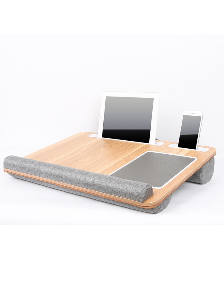 Laptop Desk Pillow Computers Multifunctional Office Portable Home Mouse-Pad with Under-17-Inches