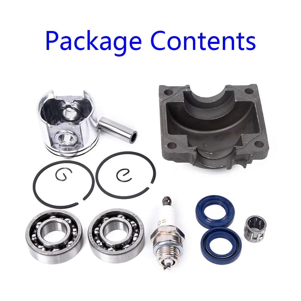 Detachable Chainsaw Kit Cylinder Piston Pan Spark Plug Needle Bearing Oil Seal For Stihl 021 MS210 Engine Parts Accessories