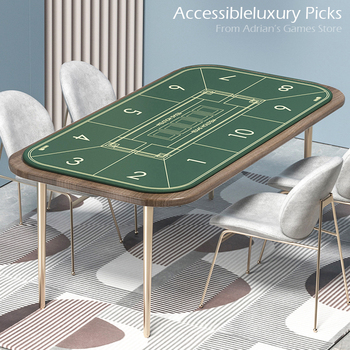 2020 New Arrival Fancy Design Poker Table Cloth 12060/18090 Poker Layout Mat High Quality