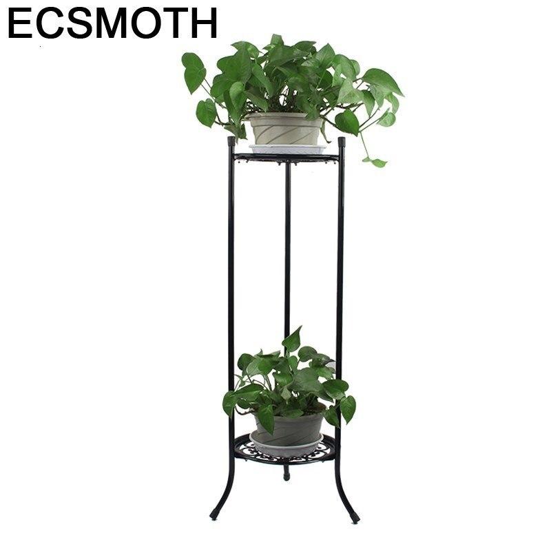 Salincagi sera dekoru decorador balcon balkon planta estande varanda prateleira flor ferro rack