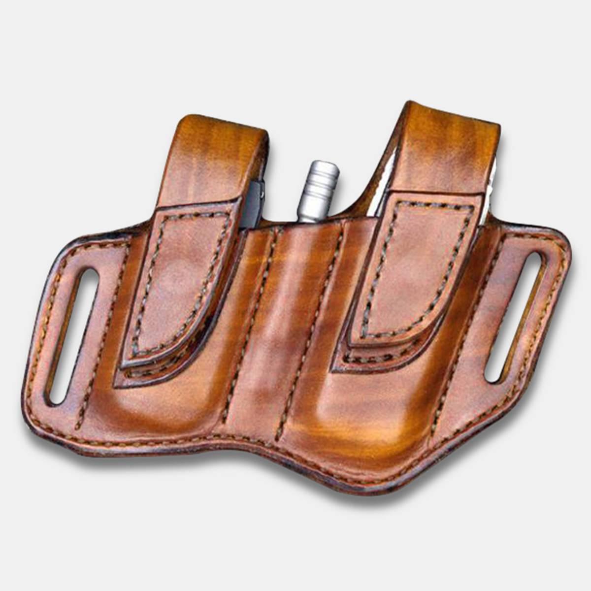 Мужская повседневная кобура из натуральной кожи, ретро-инструмент Bag, поясная сумка, чехлы для телефона на ремне для кемпинга, уличная сумка ...
