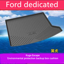 car floor mats case for ford escape kuga maverick 2015 customized auto 3d carpets custom fit foot liner mat car rugs black Car Rear Trunk Cargo Liner Boot Tray Cover Matt Mat Floor Carpet Kick Pad For Ford Kuga Escape 13-19