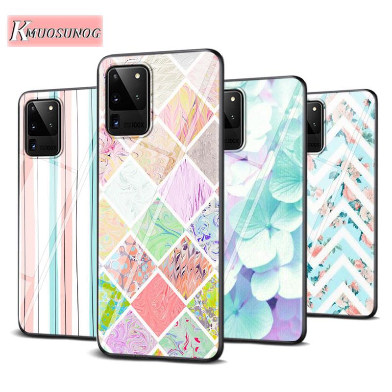 Colour Fashion for Samsung Galaxy Note 10 Lite S20Ultra S20 Plus A01 A21 A51 A71 A81 A91 Super Bright Phone Case