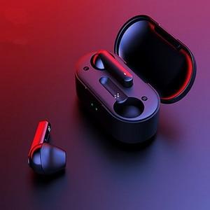 Image 1 - T3 Tws Vingerafdruk Touch Draadloze Hoofdtelefoon Bluetooth V5.0 3D Stereo Dual Mic Noise Cancelling Koptelefoon