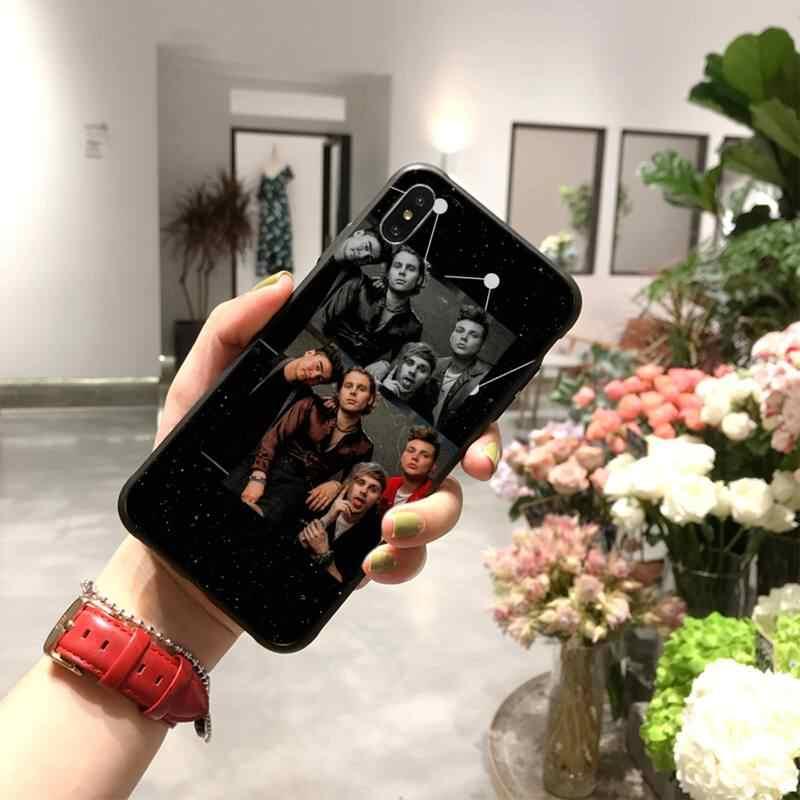 Meishuwan capa de celular com 5 segundos, 5 segundos de verão, foto personalizada, macia, para iphone 11 pro xs max 8 7 6 capa 6s plus x 5S se xr