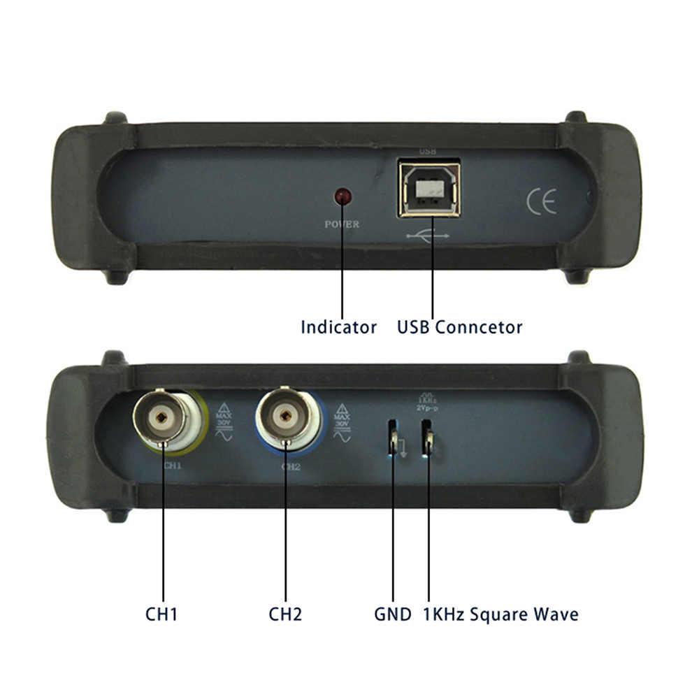 MDSO ISDS205A 3 في 1 متعددة الوظائف 20M عرض النطاق الترددي الطيف محلل + مسجل بيانات + PC USB سلم الظاهري ملتقط الذبذبات الرقمي
