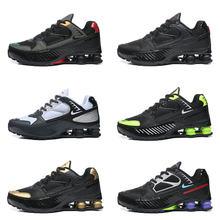 Shox Enigma – chaussures de course pour hommes et femmes, baskets d'extérieur, classiques, à la mode, avec colonne d'air