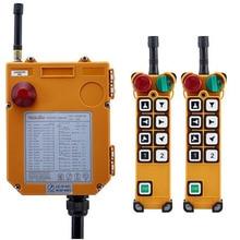 TELECRANE Senza Fili Doppia Velocità Industriale Telecomando Paranco Elettrico di Controllo Remoto 2 Trasmettitore + 1 Ricevitore F24 8D
