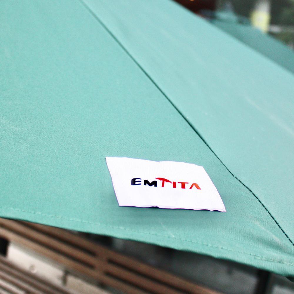 Umbrella Patio Beach-Available Bar Telescopic Mall Coffee-Shop Rainproof EMTITA Sunpretection