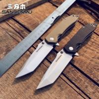 SANRENMU SRM 9001/9002 12C27 Klinge G10 Griff Klapp Messer Outdoor Survival Multi Werkzeuge Camping Tasche EDC Messer Top