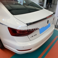 For Jetta Spoiler 2019 High Quality ABS Material Car Rear Wing Primer Color for Volkswagen