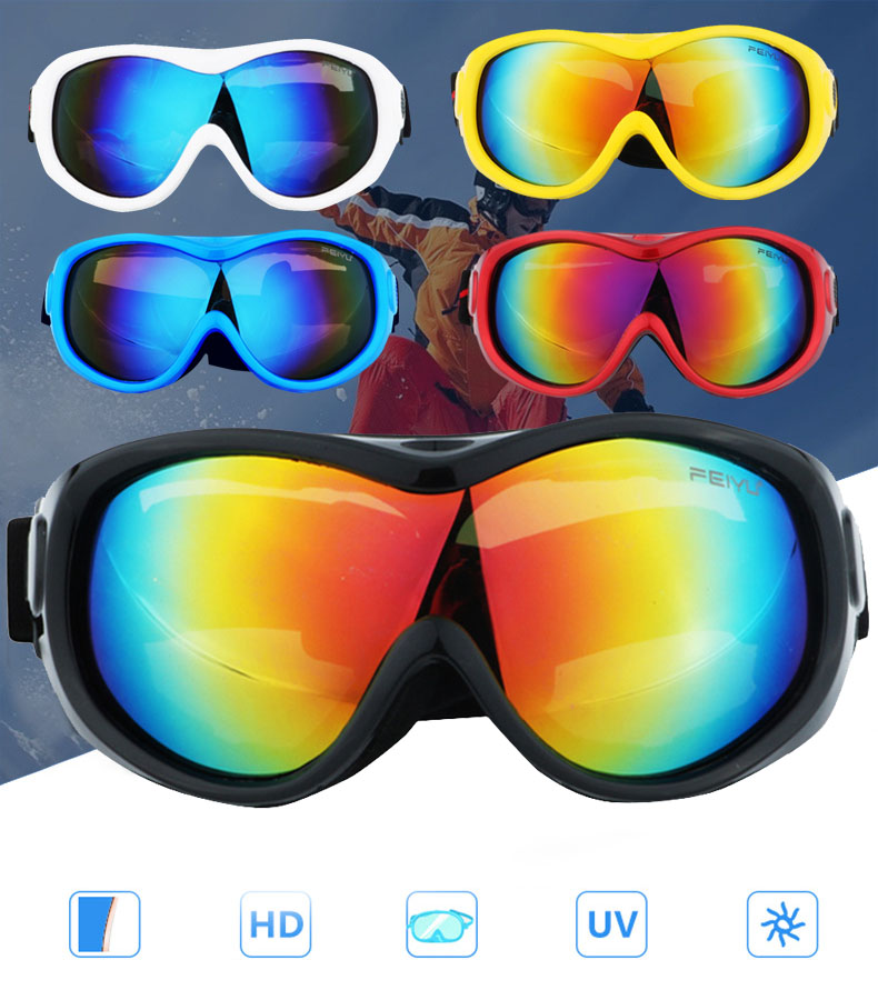 Ski Goggles For Men And Women UV Protection Outdoor Sports Cycling Snowboard Goggles Windproof Glasses
