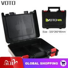 Voto 電源ツールスーツケース 12 v 16.8 v 21 12v ユニバーサルツールボックス収納ケース 320 ミリメートルの長さリチウムドリル電動ドライバー