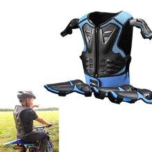 Kinder Full Body Protector Blau Weste Rüstung Rot Kinder Reiten Jacke Anti Fallen Schutz Getriebe Knie Ellenbogen Anzug Brandoo