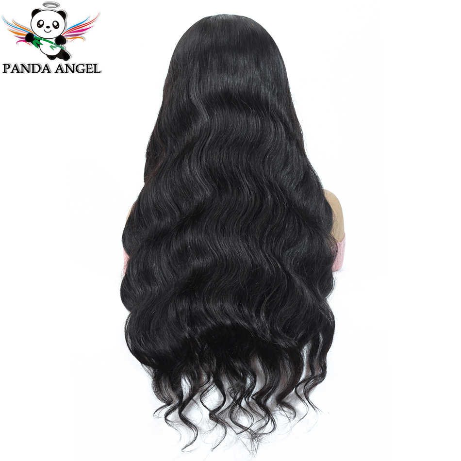 Panda 13*4 Body Wave Lace Front Human Hair Wigs For Black Women Pre Plucked 13*6 Peruvian Lace Front Wigs Remy 150% Density Wig