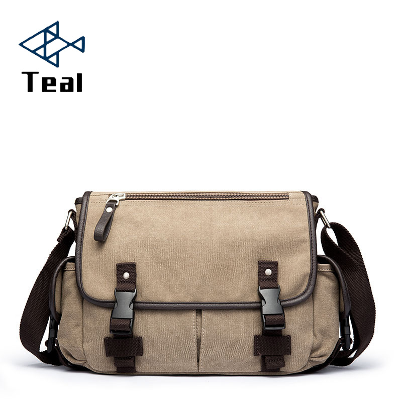 2020 New Fashion Men Briefcase Bag Canvas Handsome Business Men Bag Documents Canvas Shoulder Bag High Quality