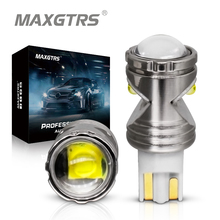 2x W16W T15 LED נורות קריס שבב Canbus OBC שגיאת משלוח LED גיבוי אור 921 912 W16W LED נורות רכב הפוך מנורת קסנון לבן DC12V
