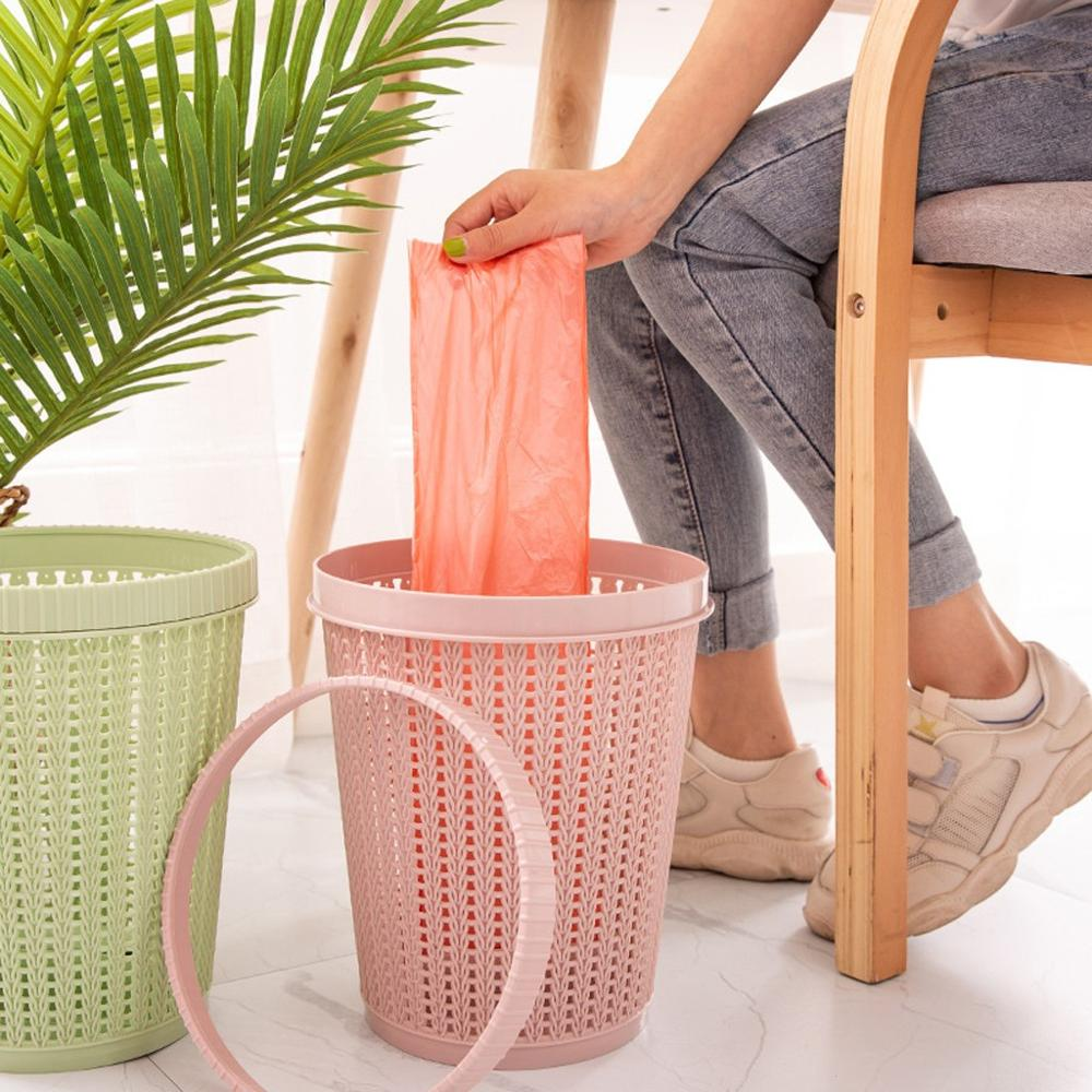 Elastic  Lock Holder Waste Bin Household Home Office Trash Bag Fixed