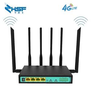 3G4G LTE podwójna karta SIM router przemysłowy cpe router 4G LTE router WiFi z podwójna karta SIM gniazdo LAN port VPN 32 użytkowników