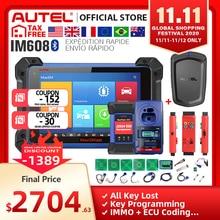 Autel IM608 MaxiIM 608 OBD2 Scanner OBDII Car Auto Diagnostic Tool OBD 2 All System Key Programming PK IM508 Key Programmer