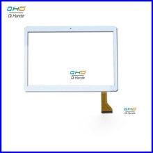 Novo painel de toque para 10.1 Polegada excelvan m10 tablet pc sensor da tela toque digitador da tela escrita painel peças reposição